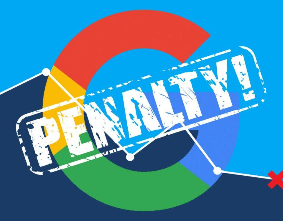 Google Penalty Chart